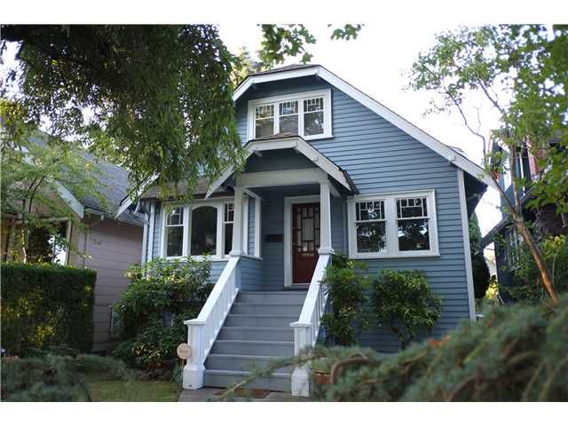 Main Photo: 3212 W 13TH Avenue in Vancouver: Kitsilano House  (Vancouver West)  : MLS®# V1084036