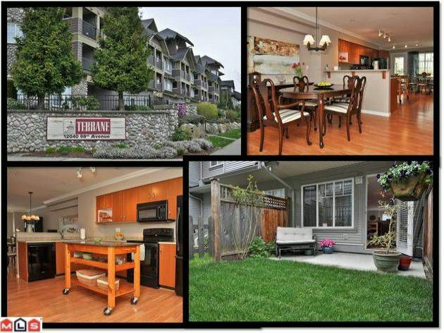 "Main Photo: 166 12040 68TH Avenue in Surrey: West Newton Townhouse for sale in ""Terrane"" : MLS®# F1208802"