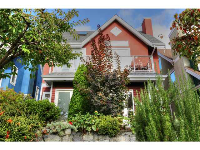Main Photo: 2045 E 5th Avenue in Vanouver: Grandview VE House 1/2 Duplex for sale (Vancouver East)  : MLS®# v1089718