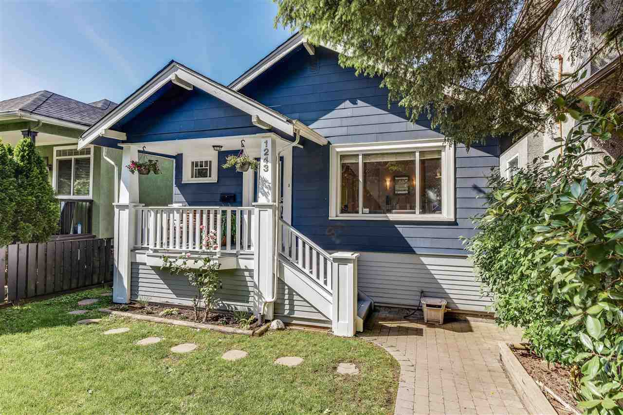Main Photo: 1243 E 18TH AVENUE in Vancouver: Knight House for sale (Vancouver East)  : MLS®# R2075372