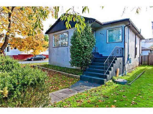 Main Photo: 896 E 33RD AVENUE in : Fraser VE House for sale : MLS®# V917023