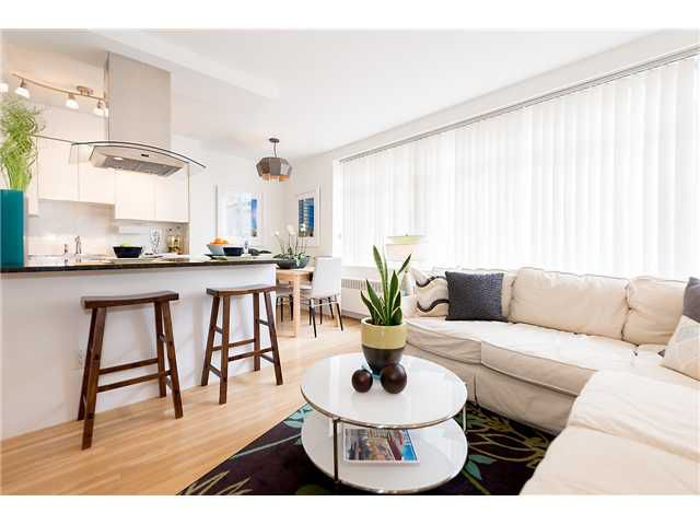 Main Photo: # 408 1975 PENDRELL ST in Vancouver: West End VW Condo for sale (Vancouver West)  : MLS®# V1113721
