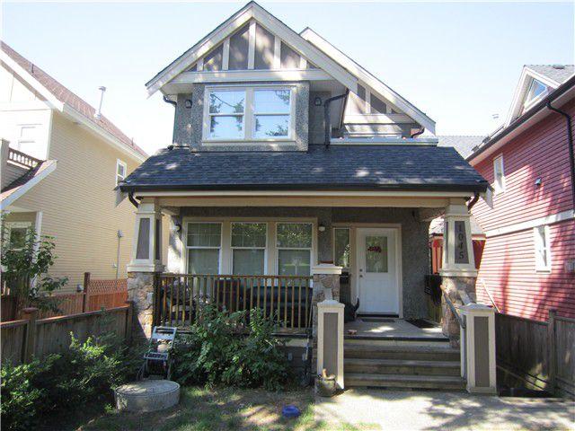 Main Photo: 1045 E 10TH Avenue in Vancouver: Mount Pleasant VE House 1/2 Duplex for sale (Vancouver East)  : MLS®# V966703