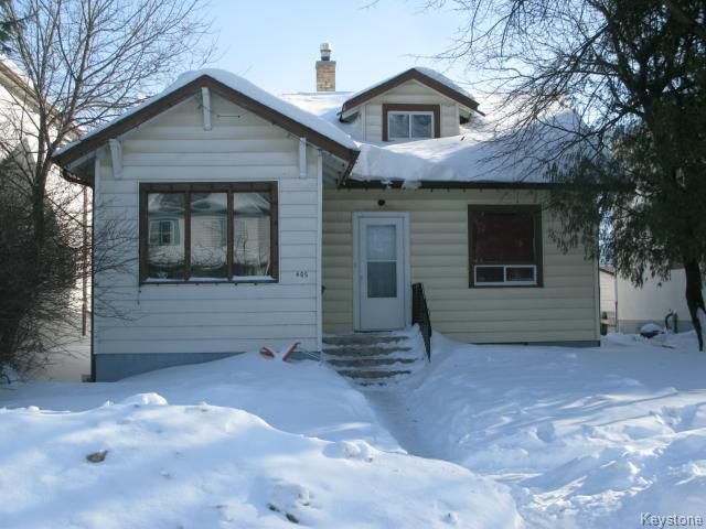 Main Photo: 405 Andrews Street in WINNIPEG: North End Single Family Detached for sale (North West Winnipeg)  : MLS®# 1402985