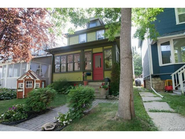 Main Photo: 508 Craig Street in WINNIPEG: West End / Wolseley Residential for sale (West Winnipeg)  : MLS®# 1420307