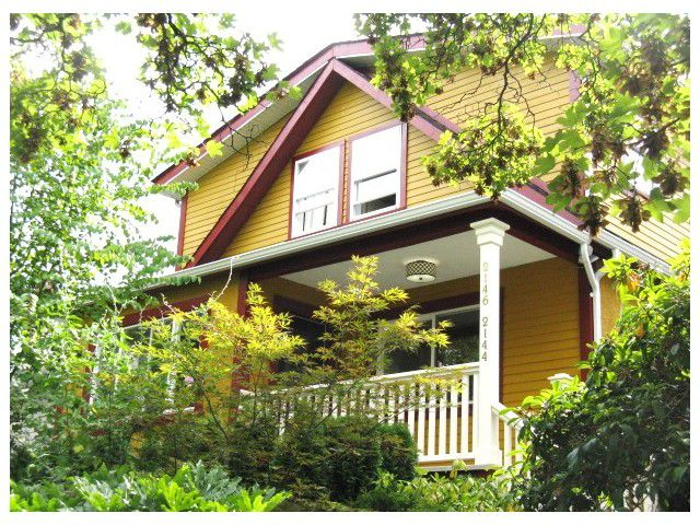 Main Photo: 2144 - 2146 VENABLES ST in Vancouver: Grandview VE House for sale (Vancouver East)  : MLS®# V1084107