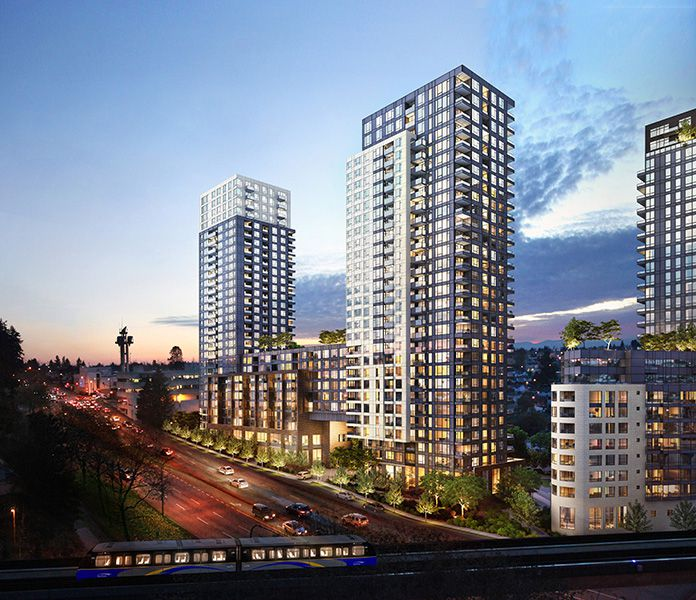 Main Photo: #1004 at WALL CENTRE CENTRAL PARK TOWER 3 by Wall Group of Companies in Burnaby: Collingwood VE Condo  (Vancouver East)