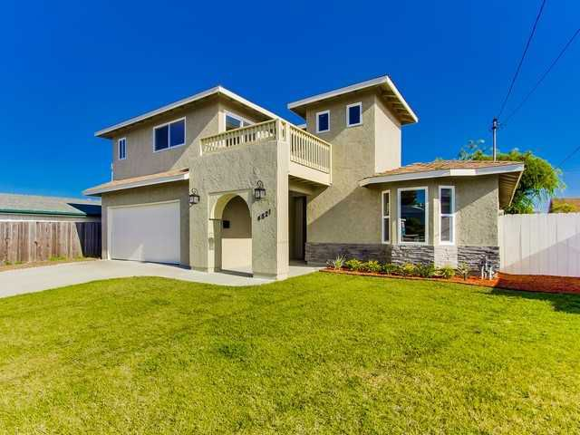 Main Photo: CLAIREMONT House for sale : 4 bedrooms : 4821 Mount Bigelow Drive in San Diego