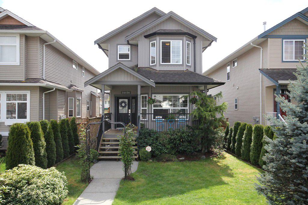 "Main Photo: 34636 7TH Avenue in Abbotsford: Poplar House for sale in ""Huntington Village"" : MLS®# F1308527"