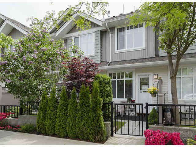 "Main Photo: 9 19480 66TH Avenue in Surrey: Clayton Townhouse for sale in ""Two Blue II"" (Cloverdale)  : MLS®# F1418506"