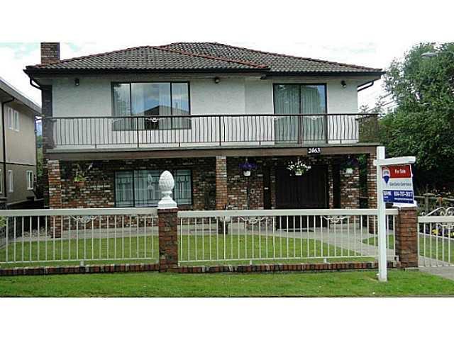 Main Photo: 2463 KITCHENER Street in Vancouver: Renfrew VE House for sale (Vancouver East)  : MLS®# V1013686