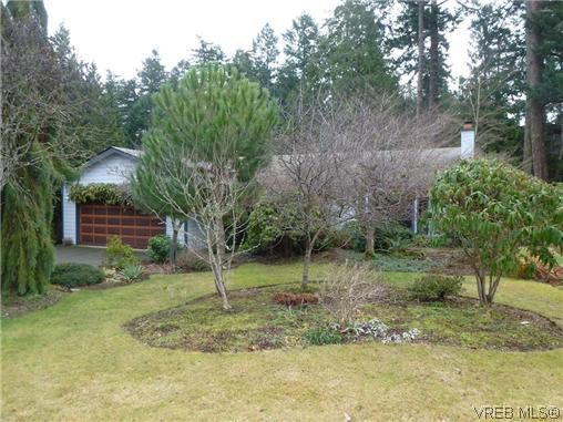 Main Photo: 6746 Amwell Drive in BRENTWOOD BAY: CS Brentwood Bay Single Family Detached for sale (Central Saanich)  : MLS®# 318309