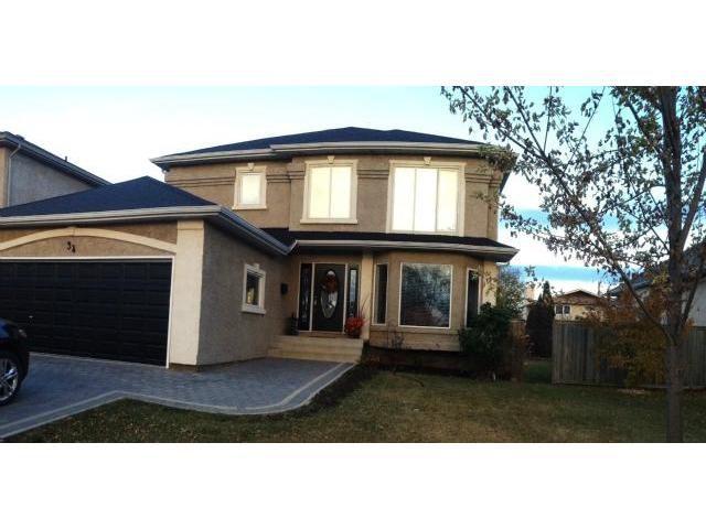 Main Photo: 34 Meadow Ridge Drive in WINNIPEG: Fort Garry / Whyte Ridge / St Norbert Residential for sale (South Winnipeg)  : MLS®# 1302132
