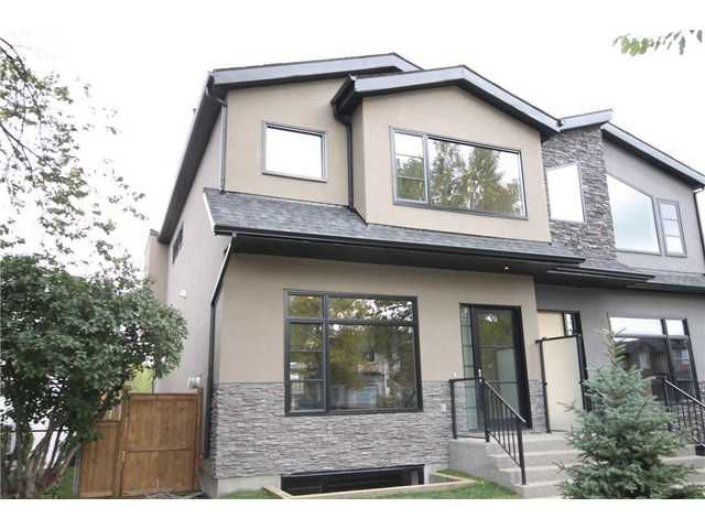 Main Photo: 726 24 Avenue NW in CALGARY: Mount Pleasant Residential Attached for sale (Calgary)  : MLS®# C3586265