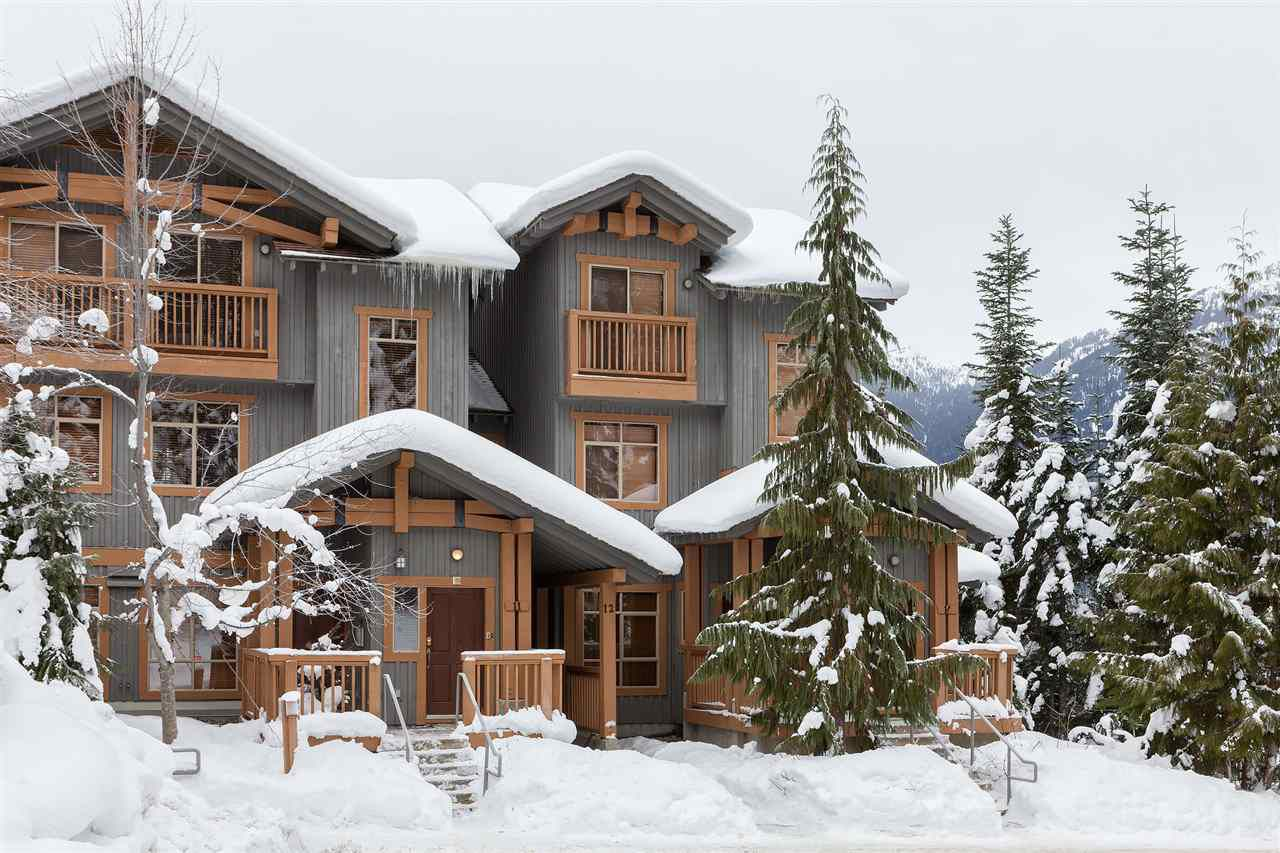 Main Photo: 11 2301 TALUSWOOD PLACE in Whistler: Nordic Townhouse for sale : MLS®# R2024520