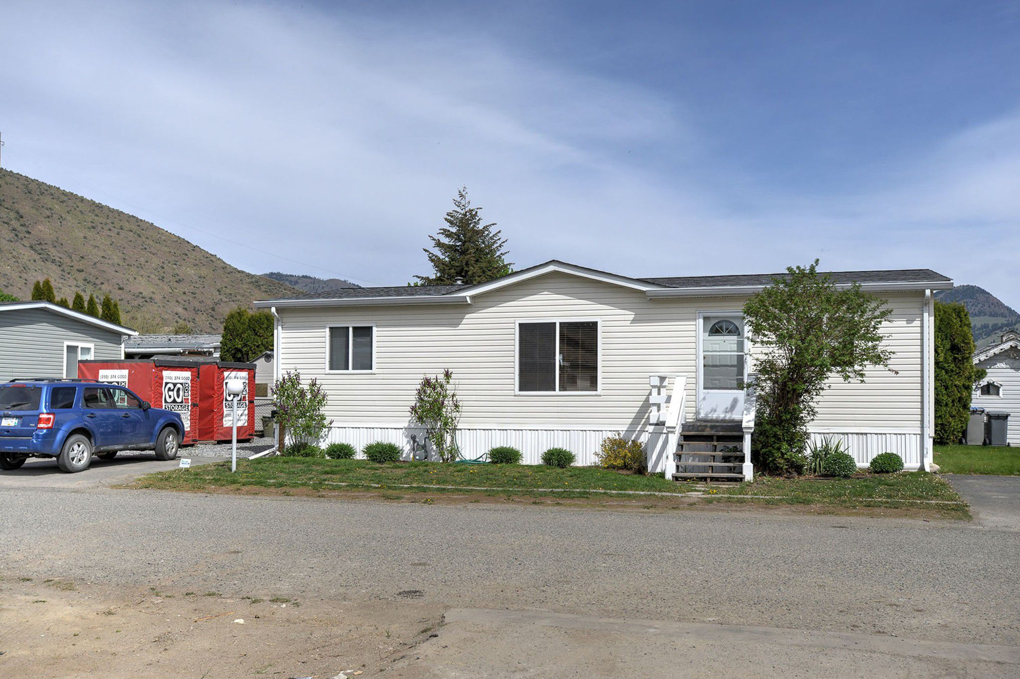 Main Photo: 134 1655 Ord Rd in Kamloops: Brock Manufactured Home for sale : MLS®# 151211