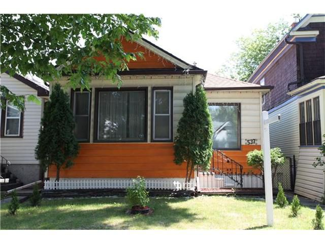 Main Photo: 537 Beverley Street in WINNIPEG: West End / Wolseley Residential for sale (West Winnipeg)  : MLS®# 1214280
