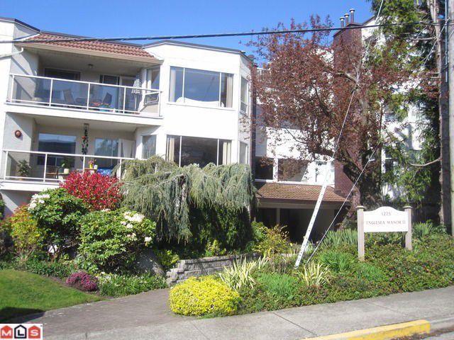 "Main Photo: 301 1225 MERKLIN Street: White Rock Condo for sale in ""ENGLSEA MANOR II"" (South Surrey White Rock)  : MLS®# F1303311"