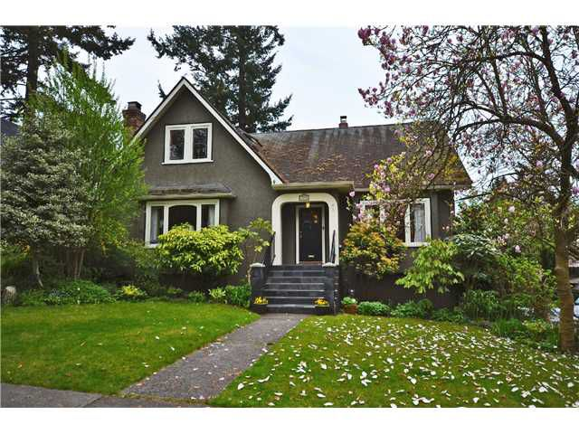 "Main Photo: 3894 W 34TH Avenue in Vancouver: Dunbar House for sale in ""West of Dunbar"" (Vancouver West)  : MLS®# V1003943"