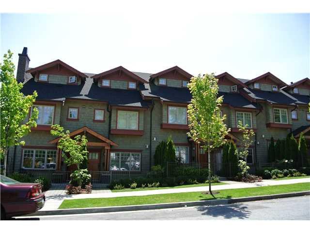 Main Photo: 966 W 43RD AV in Vancouver: Oakridge VW Townhouse for sale (Vancouver West)  : MLS®# V1090542