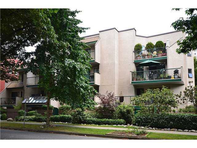 Main Photo: # 202 1169 NELSON ST in Vancouver: West End VW Condo for sale (Vancouver West)  : MLS®# V1076556