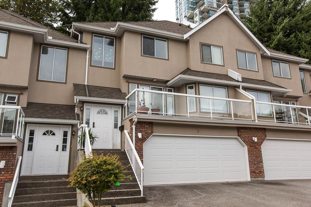 Main Photo: 3 72 JAMIESON COURT in New Westminster: Fraserview NW Townhouse for sale : MLS®# R2000249