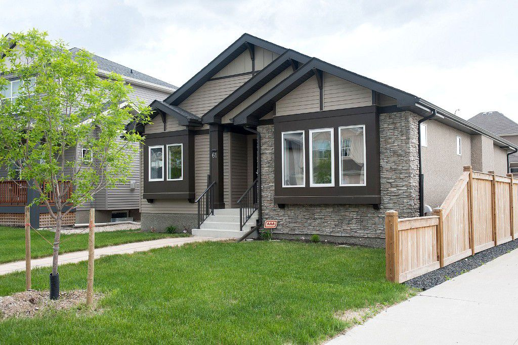 Main Photo: 61 Ranville Road in Winnipeg: Single Family Detached for sale (Sage Creek)  : MLS®# 1413632
