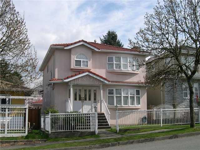 Main Photo: 4968 SOMERVILLE ST in Vancouver: Fraser VE House for sale (Vancouver East)  : MLS®# V999735