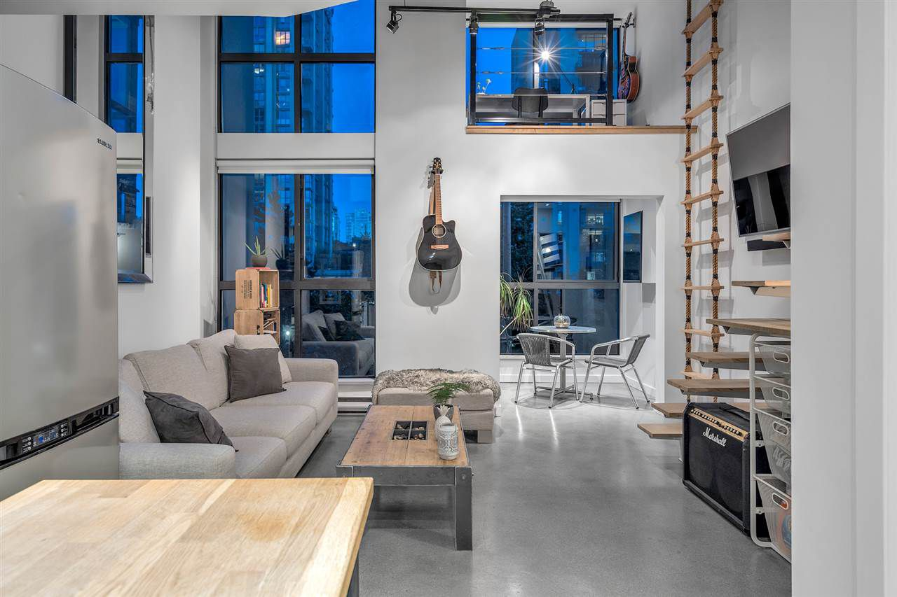 Main Photo: 213 1238 SEYMOUR STREET in Vancouver: Downtown VW Condo for sale (Vancouver West)  : MLS®# R2317788