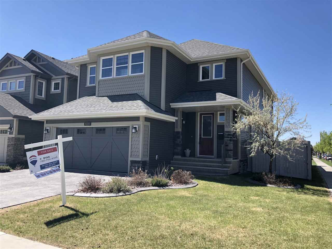 Main Photo: 4314 VETERANS Way in Edmonton: Griesbach House for sale