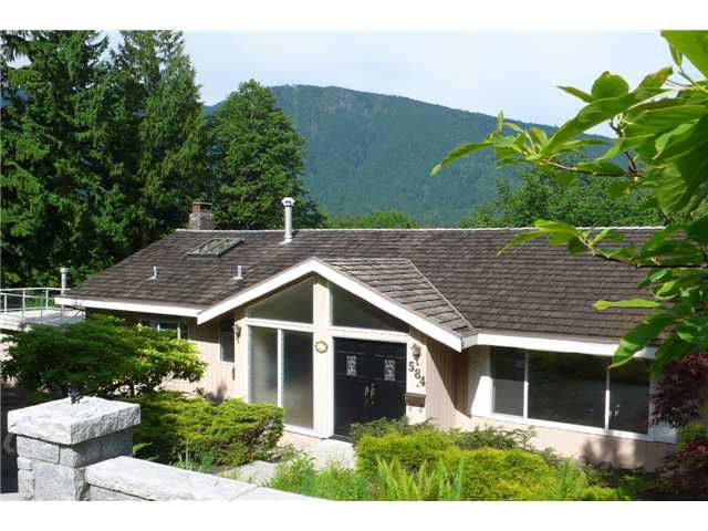 Main Photo: 584 BARNHAM Place in West Vancouver: British Properties House for sale : MLS®# V957447