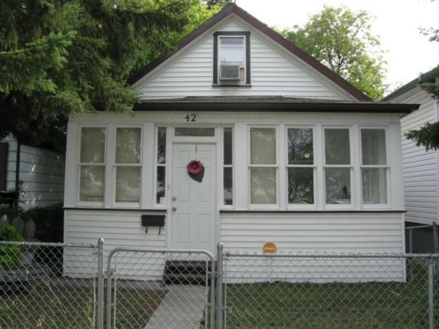 Main Photo: 42 Gallagher Avenue West in WINNIPEG: Brooklands / Weston Residential for sale (West Winnipeg)  : MLS®# 1216590