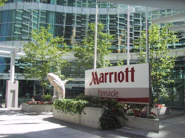 """Main Photo: 2318 1128 W HASTINGS Street in Vancouver: Coal Harbour Condo for sale in """"MARRIOTT VANCOUVER PINNACLE"""" (Vancouver West)  : MLS®# V986088"""