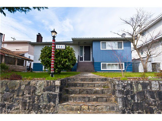 Main Photo: 7541 ELLIOTT ST in Vancouver: Fraserview VE House for sale (Vancouver East)  : MLS®# V989806