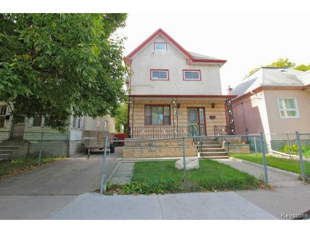Main Photo: 622 Alexander Avenue in WINNIPEG: West End / Wolseley Residential for sale (West Winnipeg)  : MLS®# 1320643
