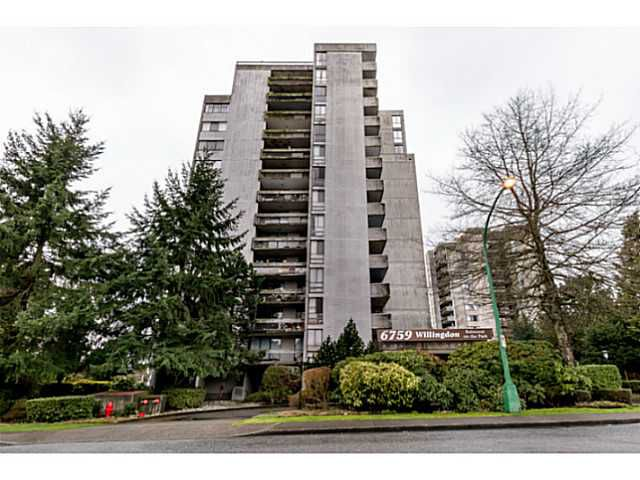 Main Photo: 405 6759 Willingdon Avenue in Burnaby: Metrotown Condo for sale (Burnaby South)  : MLS®# V1103689
