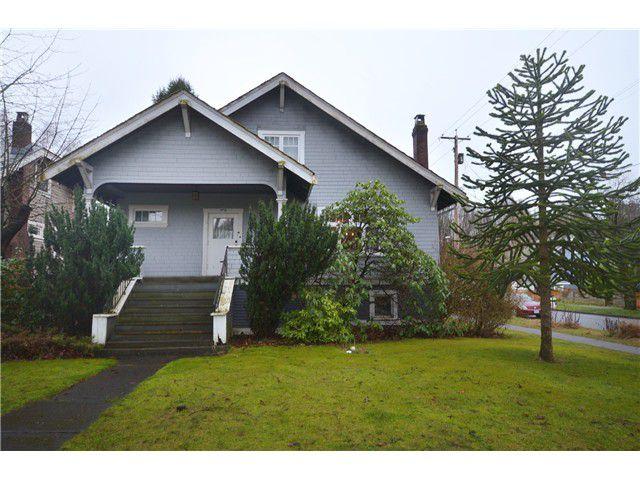 "Main Photo: 1010 E 21ST Avenue in Vancouver: Fraser VE House for sale in ""CEDAR COTTAGE"" (Vancouver East)  : MLS®# V988723"