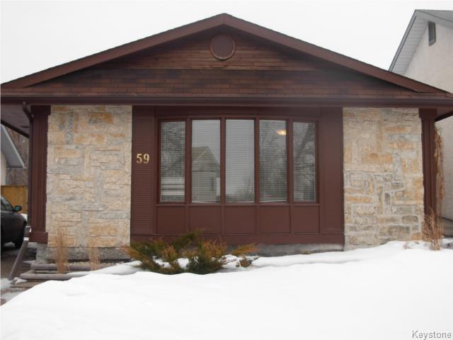 Main Photo: 59 Pear Tree Bay in Winnipeg: St Vital Residential for sale ()  : MLS®# 1003494