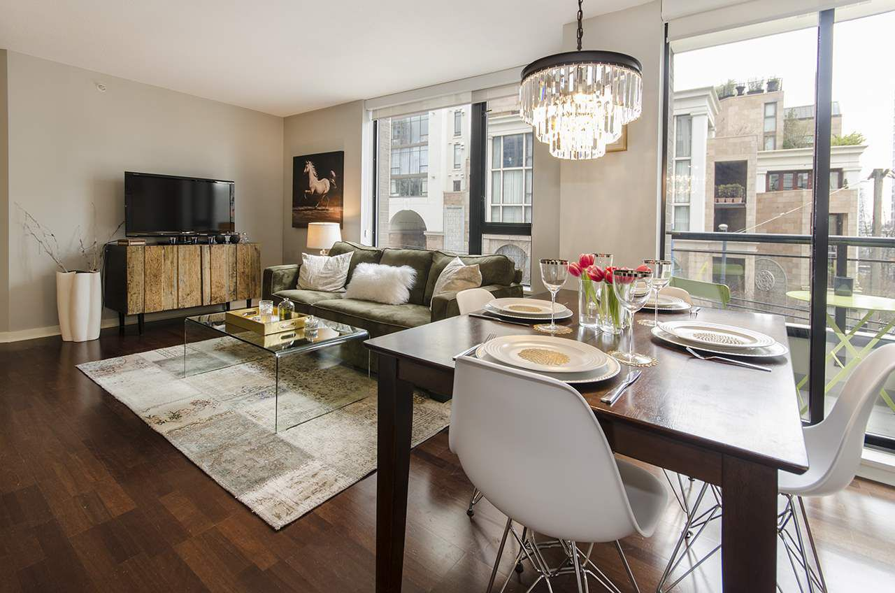 Main Photo: 309 1295 RICHARDS STREET in Vancouver: Downtown VW Condo for sale (Vancouver West)  : MLS®# R2028546