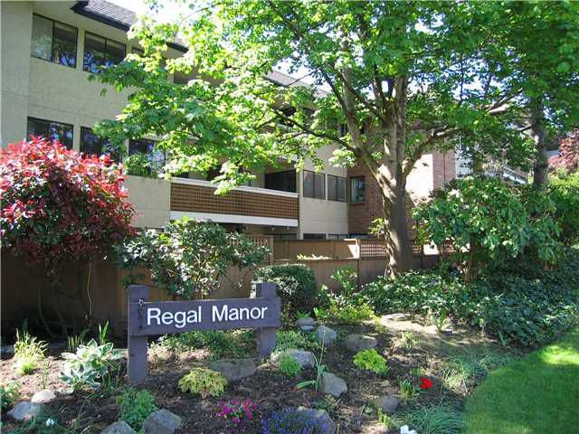 "Main Photo: 314 316 CEDAR Street in New Westminster: Sapperton Condo for sale in ""REGAL MANOR/SAPPERTON"" : MLS®# V954715"