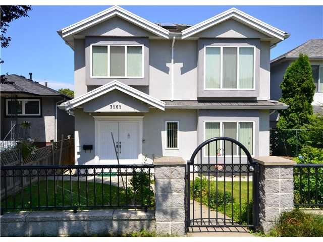 "Main Photo: 3565 E 28TH Avenue in Vancouver: Renfrew Heights House for sale in ""RENFREW HEIGHTS"" (Vancouver East)  : MLS®# V962279"