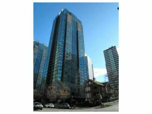 "Main Photo: 908 1288 W GEORGIA Street in Vancouver: West End VW Condo for sale in ""THE RESIDENCES ON GEORGIA"" (Vancouver West)  : MLS®# V971290"