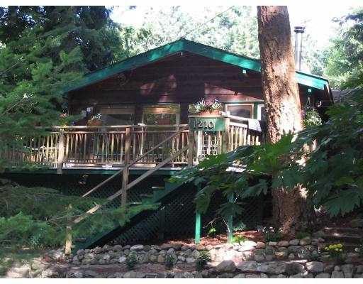 "Main Photo: 1210 MILLER RD: Bowen Island House for sale in ""MILLERS LANDING"" : MLS®# V558847"