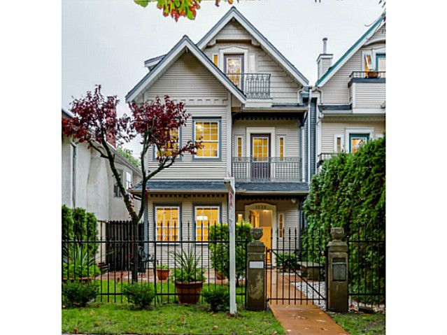Main Photo: 1538 E 10 Avenue in Vancouver: Grandview VE House 1/2 Duplex  (Vancouver East)  : MLS®# V1092394
