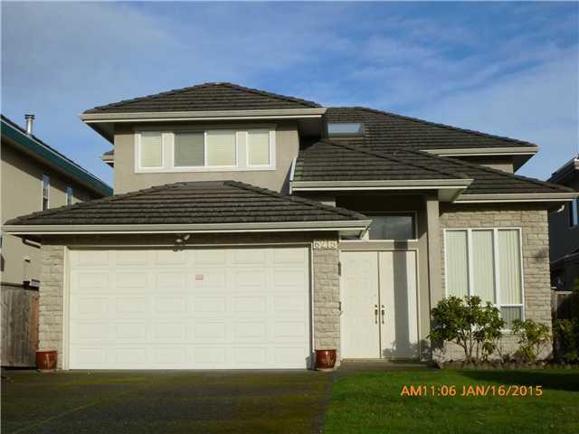Main Photo: 6215 GARRISON CT in Richmond: Riverdale RI House for sale : MLS®# V1100153