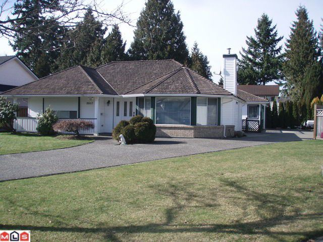 "Main Photo: 8867 157TH Street in Surrey: Fleetwood Tynehead House for sale in ""FLEETWOOD"" : MLS®# F1204942"