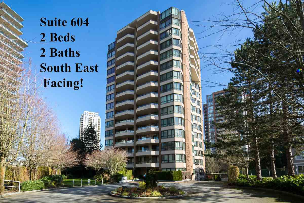 Main Photo: 604 6152 KATHLEEN AVENUE in Burnaby: Metrotown Condo for sale (Burnaby South)  : MLS®# R2043743