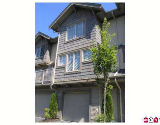 """Main Photo: 47 20761 DUNCAN WY in Langley: Langley City Townhouse for sale in """"Wyndham Lane"""" : MLS®# F2619180"""