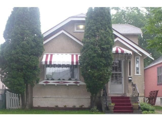 Main Photo: 1041 DOWNING Street West in WINNIPEG: West End / Wolseley Residential for sale (West Winnipeg)  : MLS®# 1212625