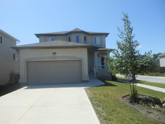 Main Photo: 3 Grady Bend Place in WINNIPEG: West Kildonan / Garden City Residential for sale (North West Winnipeg)  : MLS®# 1215359